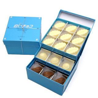 白いチョコ商品写真